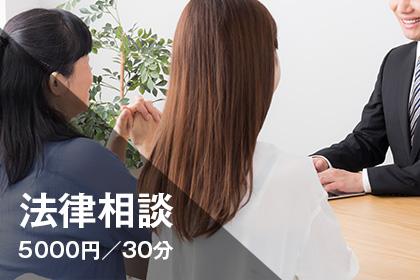 法律相談 5000円/30分